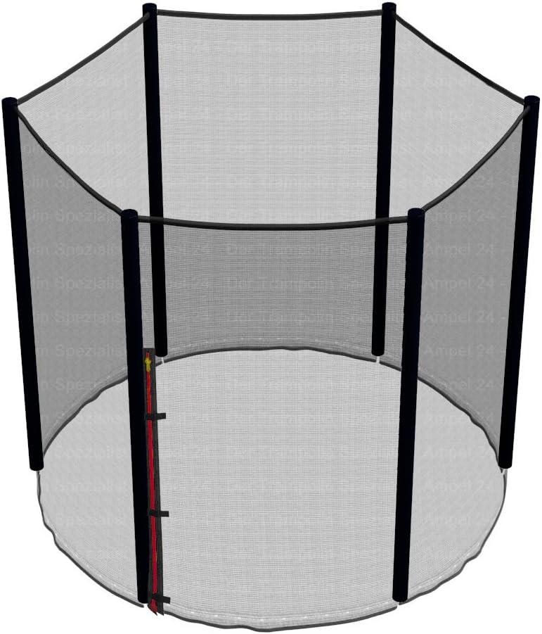 r/ésistant aux UV Filet de s/écurit/é de Rechange Deluxe pour Trampoline 430 cm et 12 Barres piquets Non Inclus Filet int/èrieur Ampel 24