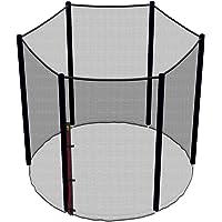 Ampel 24 Trampolin Sicherheitsnetz, Ersatznetz 183 cm - 490 cm für 6-12 Stangen, Netz außenliegend, reißfest und UV-beständig