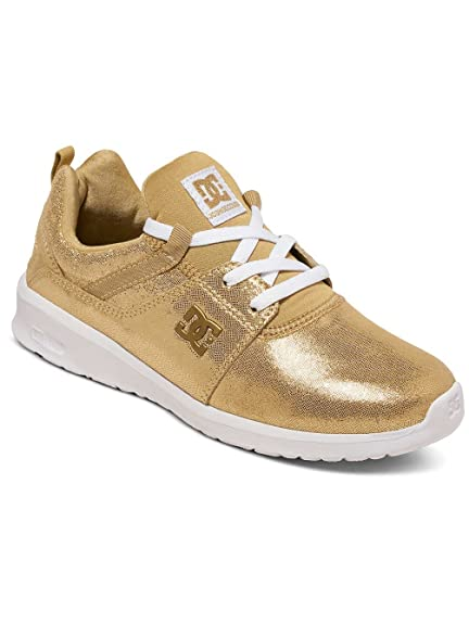 DC Women Shoes/Sneakers Heathrow SE Gold Colored 37