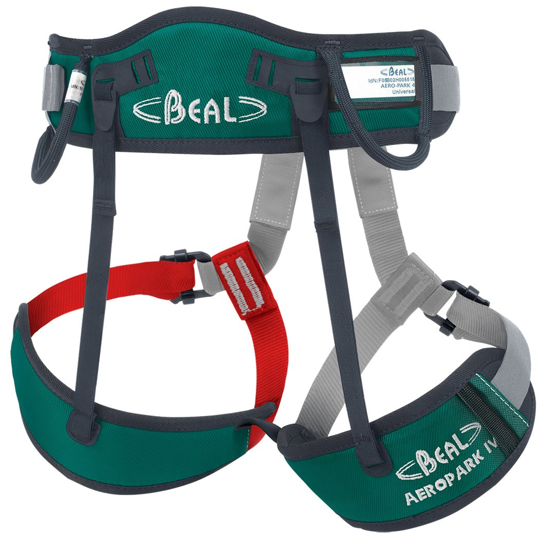 Baudrier BEAL AEROPARK IV Vert/Noir BEALB|#Beal BHAP