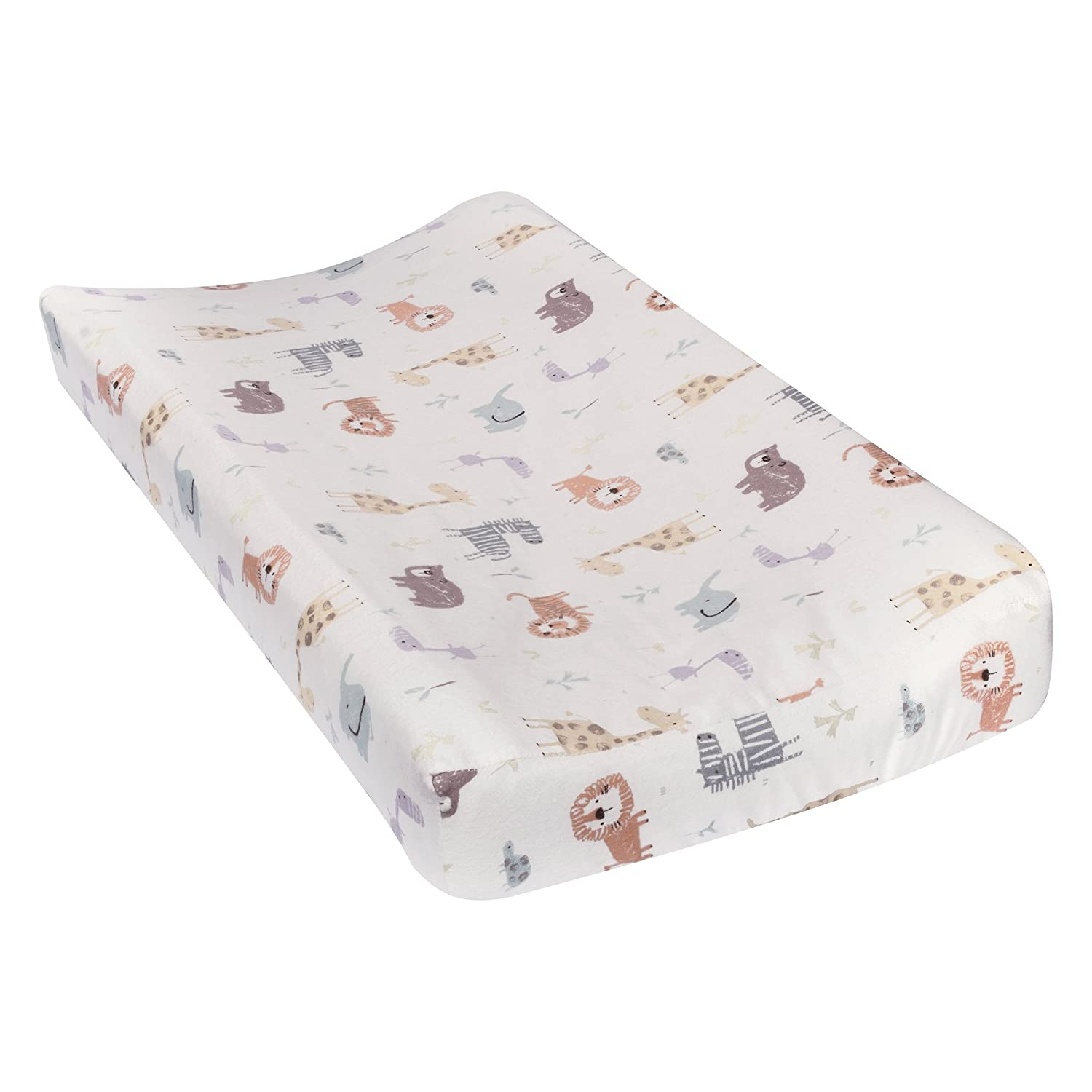 Trend Lab Crayon Jungle Deluxe Flannel Changing Pad Cover 101384