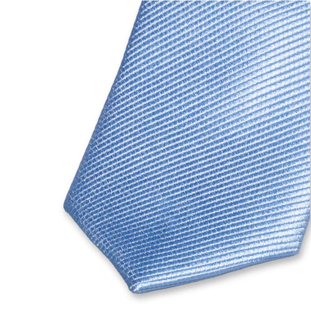 Cravatte Schlips f/ür Kinder von E.L Accessoirespezialist.de Hochwertige blaue Kinderkrawatte 100/% Seide