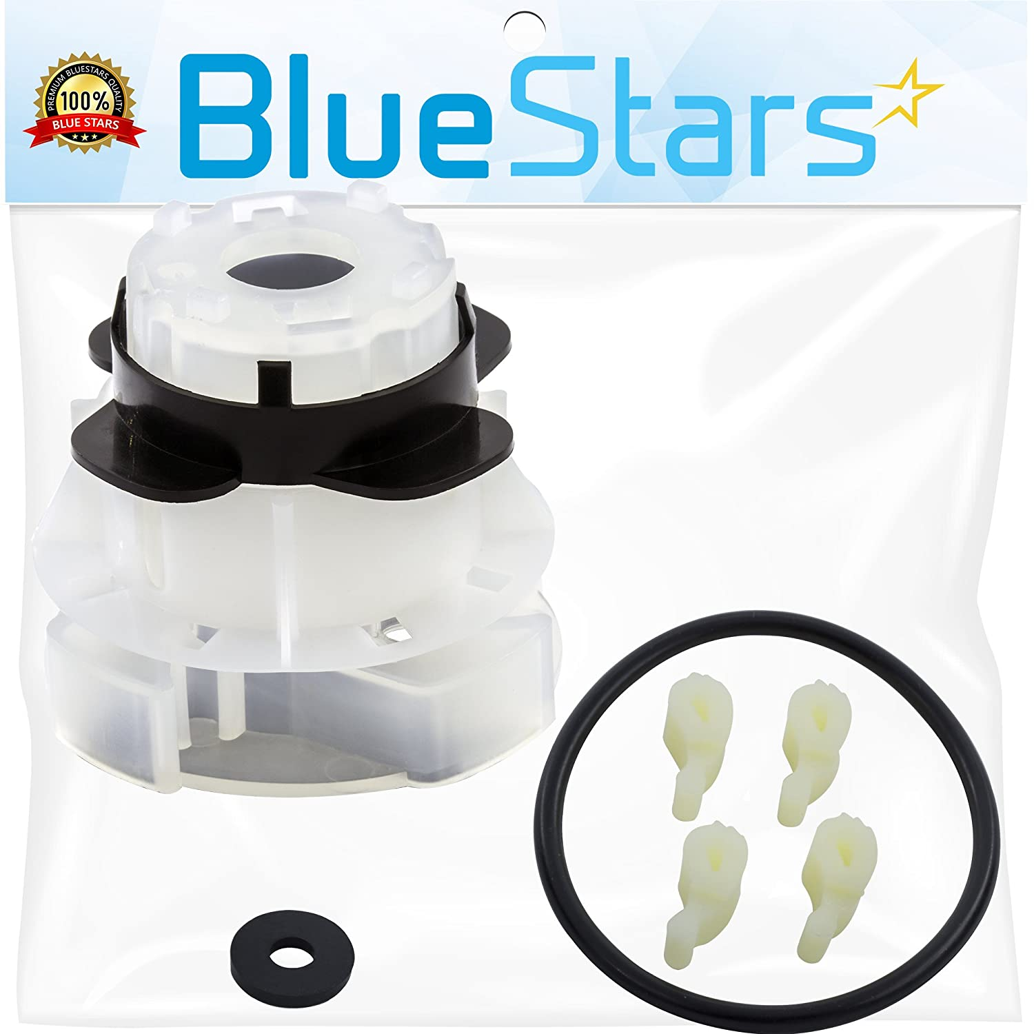 Ultra Durable 285811 Medium Agitator Repair Kit Replacement by Blue Stars - Exact Fit for Whirlpool & Kenmore Washer - Simple Instructions Included - Replaces 3363663 AP3138838 PS334650