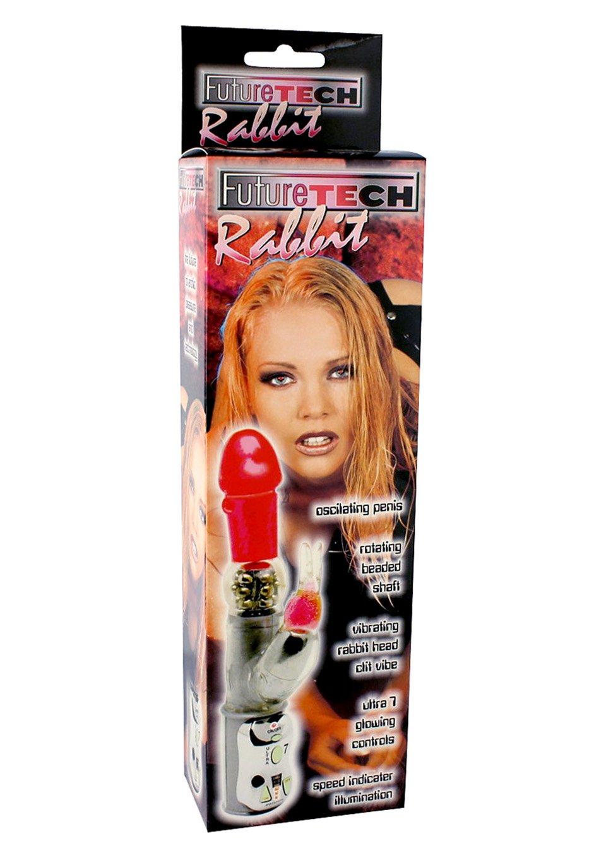Amazon.com: Adultsuperstore Future Tech Rabbit Vibrator Red: Health & Personal Care