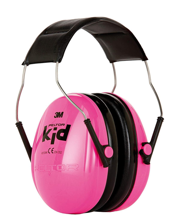 3M Peltor Kid KIDR, Neon-rosa, SNR = 27 dB