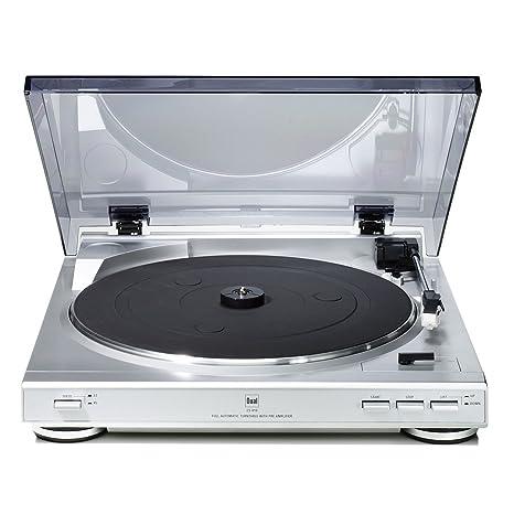 Amazon.com: Dual CS 410 Tocadiscos USB 33 1/3 y 45 rpm ...