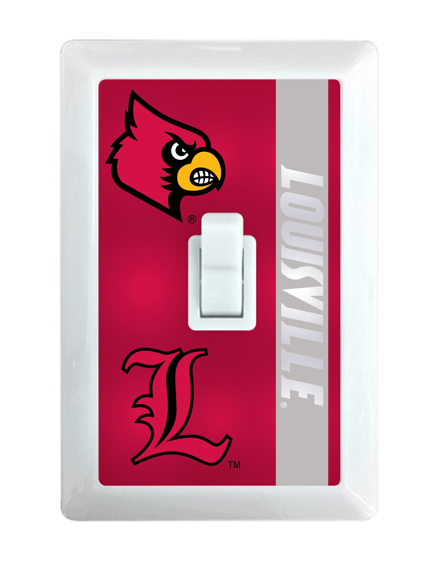 Louisville Cardinals LED Light switch