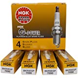 NGK (7090-4PK) BKR5EGP G-Power Spark Plug, (Box of 4)