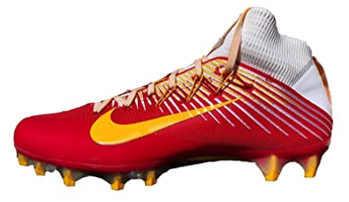 18f3856c0a8 Image Unavailable. Image not available for. Color  Nike Vapor Untouchable 2  PF University Red University Gold-White Men s Football Cleats 12