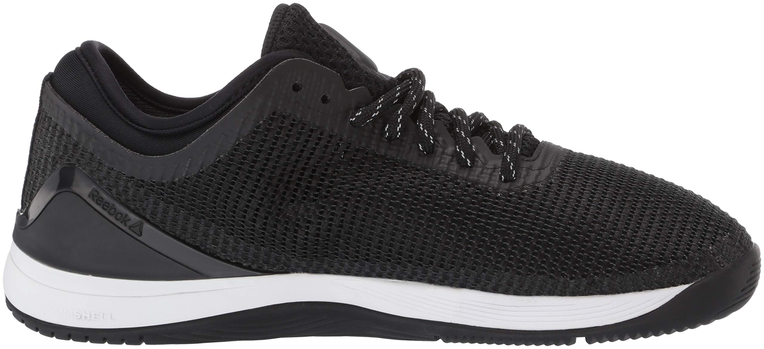 Reebok Women's CROSSFIT Nano 8.0 Flexweave Cross Trainer, Black/White, 5 M US by Reebok (Image #11)