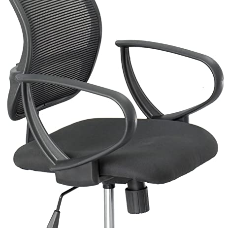 Safeco Optional Loop Arm Kit For Mesh Extended Height Chair, Black, EA    SAF3396BL