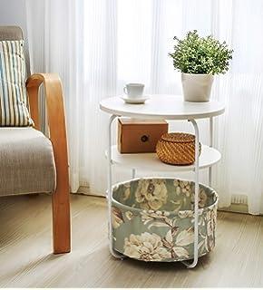 Amazon.com: ¡Despacho! Fheaven - Mesa auxiliar de madera ...