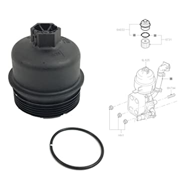OIL FILTER HOUSING TOP COVER CAP WITH SEAL: Amazon.co.uk: Car ...
