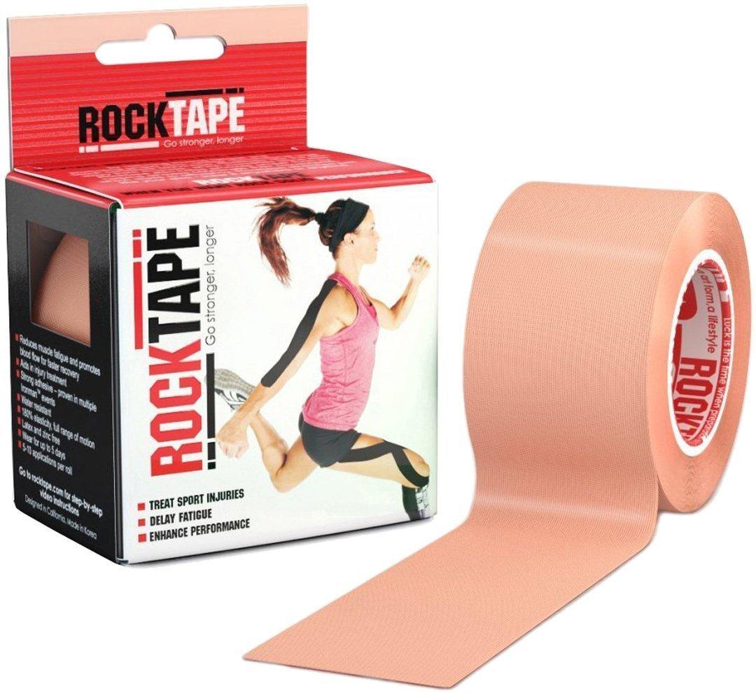 Rocktape AR2INSNGL-BIGE-30904 Kinesiology Tape for Athletes (2-Inch x 16.4-Feet), Beige