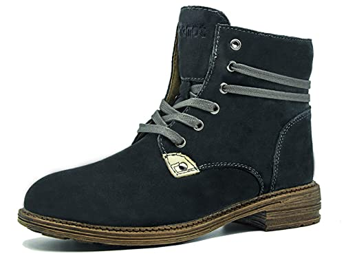 Botas Mujer con Pelo Botines con Cordones Zapatos Comodos la Mejor Elección de Calzado Casual en Invierno: Amazon.es: Zapatos y complementos
