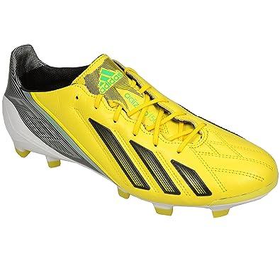 ffea23ecb893 adidas Mens Mens Adizero F50 TRX FG Football Boots in Yellow Black - UK  7.5: Amazon.co.uk: Shoes & Bags
