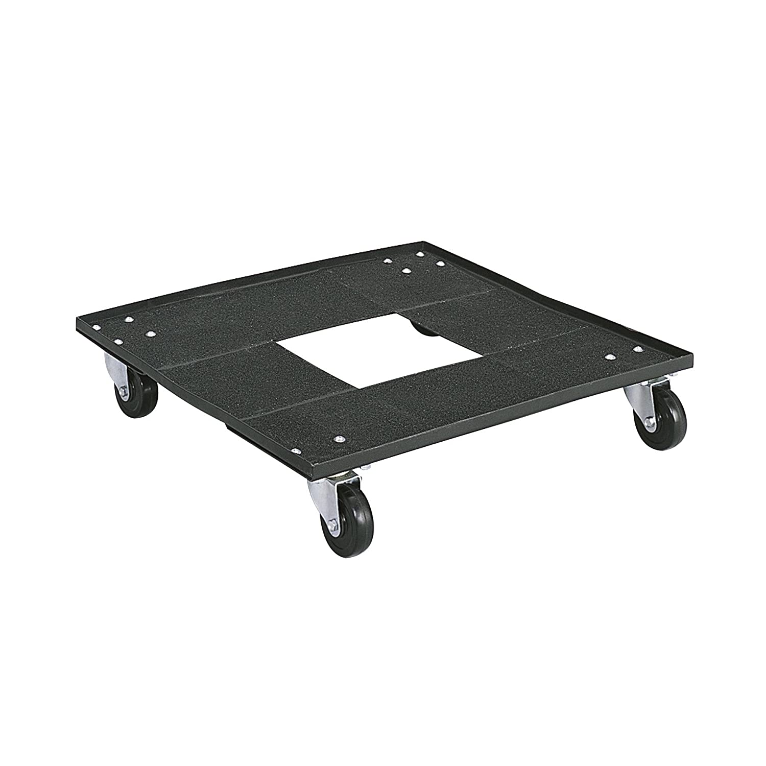 B00006IC1I Safco Products Stack Chair Cart for 4185 Stack Chairs and Visit Stack Chairs, sold separately, Black 714hNudo2BhL._SL1500_