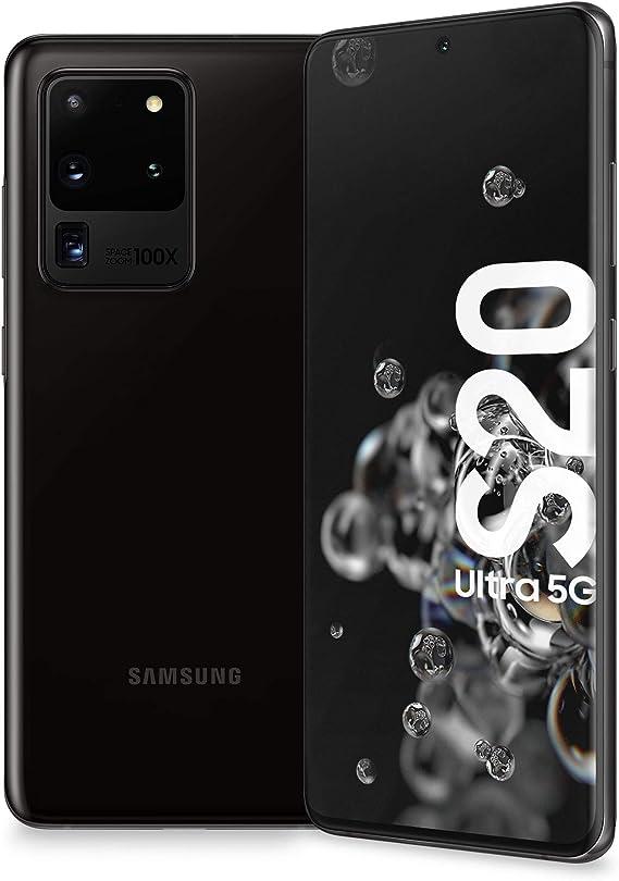 Samsung Galaxy S20 Ultra 5G - SM-G988U1 Cosmic Black 12 GB RAM 128 ...