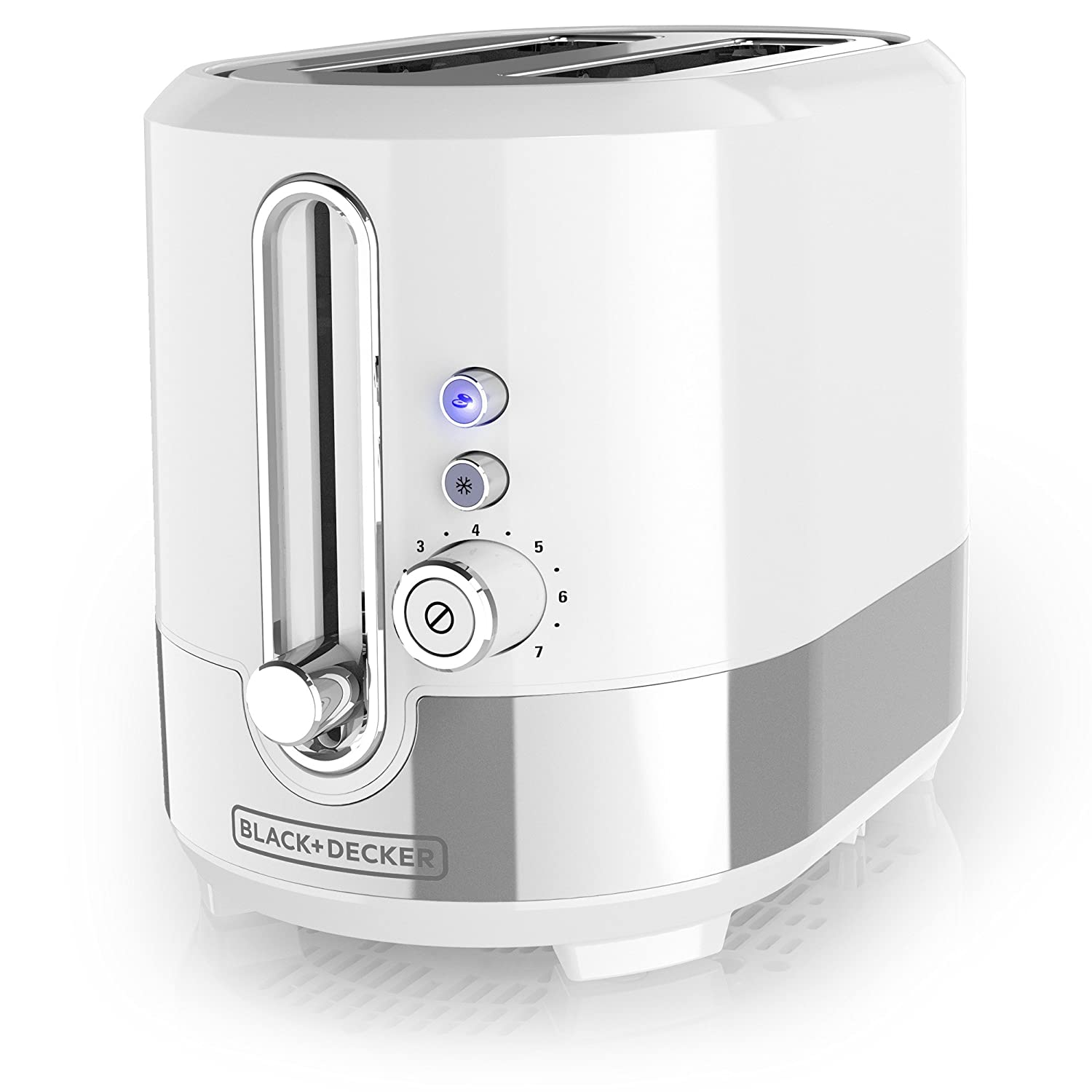 BLACK DECKER TR2200WSD Applica spectrum Brands Tr2200swd White 2 Slice Toaster, Medium,