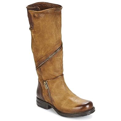6a95a83421a00d Airstep   A.S.98 Saint EC Zip Stiefel Damen Camel - 38 - Klassische Stiefel