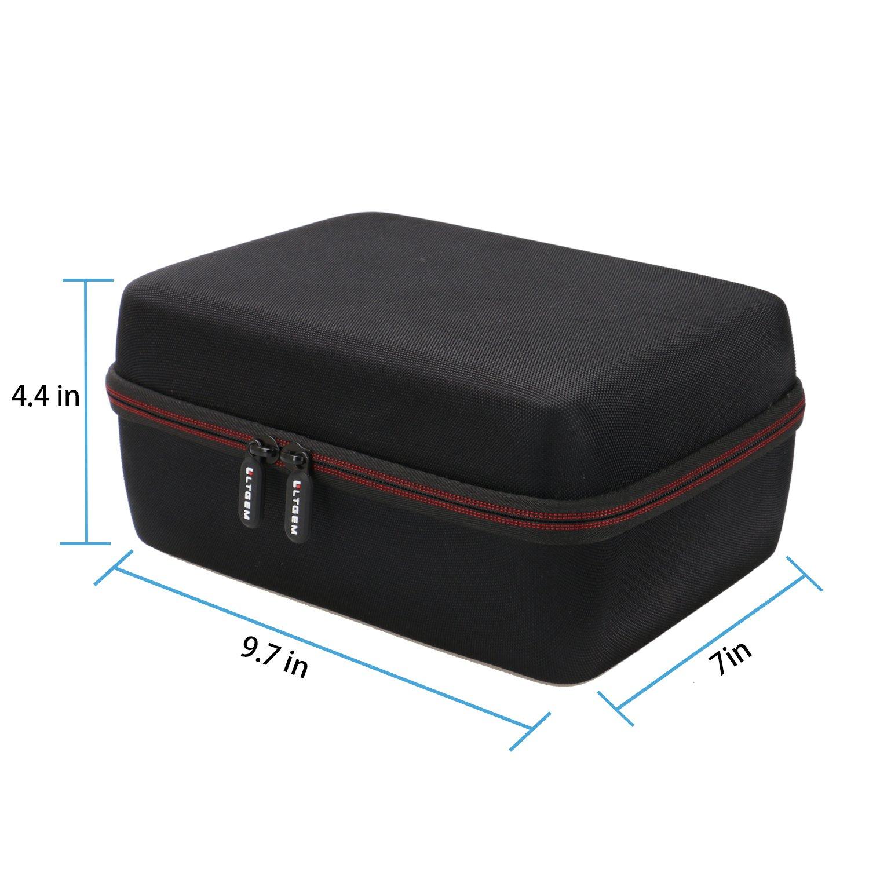 LTGEM EVA Hard Case for Blusmart LED-9400 Video Projector 2018 Upgraded +70% Brightness Portable Mini Projector - Travel Protective Carrying Storage Bag by LTGEM (Image #5)