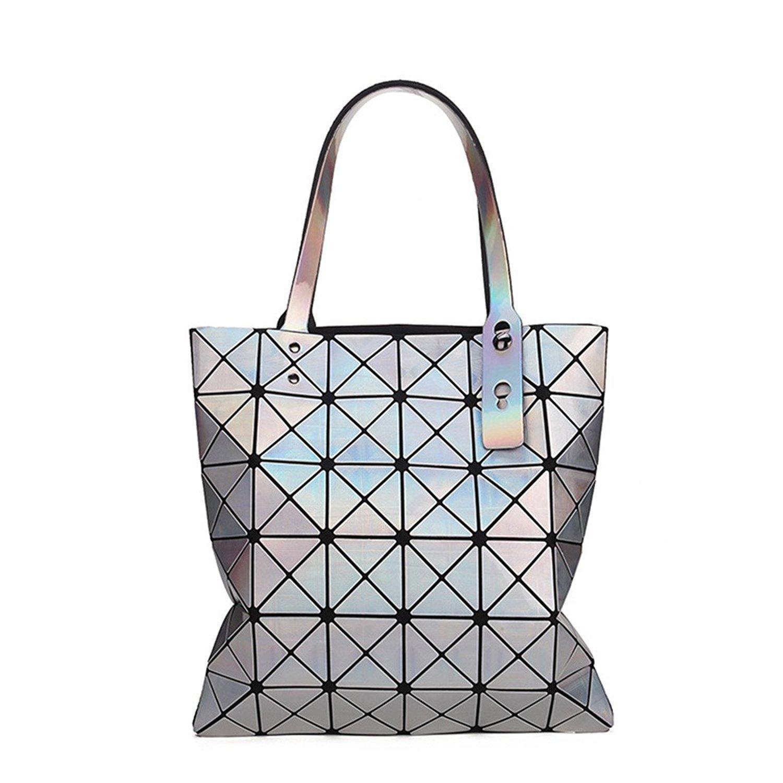OnIn top-handle-handbags レディース B073VJMZHV シルバー