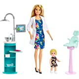 Mattel - Barbie - Career Playset Dentist Doll & Playset