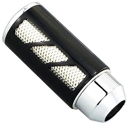 Shift Knob Trim Ordinary Type Cuque Carbon Fiber Style Anti-slid Gear Shifter Cover Ergonomic Stick Shifter Head Decoration Black for 1er 2er 3er 4er 5er 6er 7er F20 F30 F34 F10 X3 F25 X4 F26