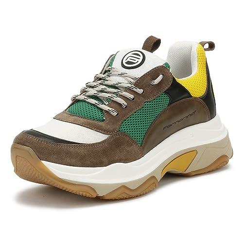 newest collection d48fa fdadd Fornarina Sneaker DPE18SUPERGREEN Taglia 36 - Colore Marrone ...
