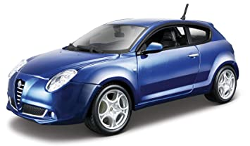 Alfa Romeo Mito >> Bburago 1 24 Star Alfa Romeo Mito Assorted Amazon Co Uk Toys Games