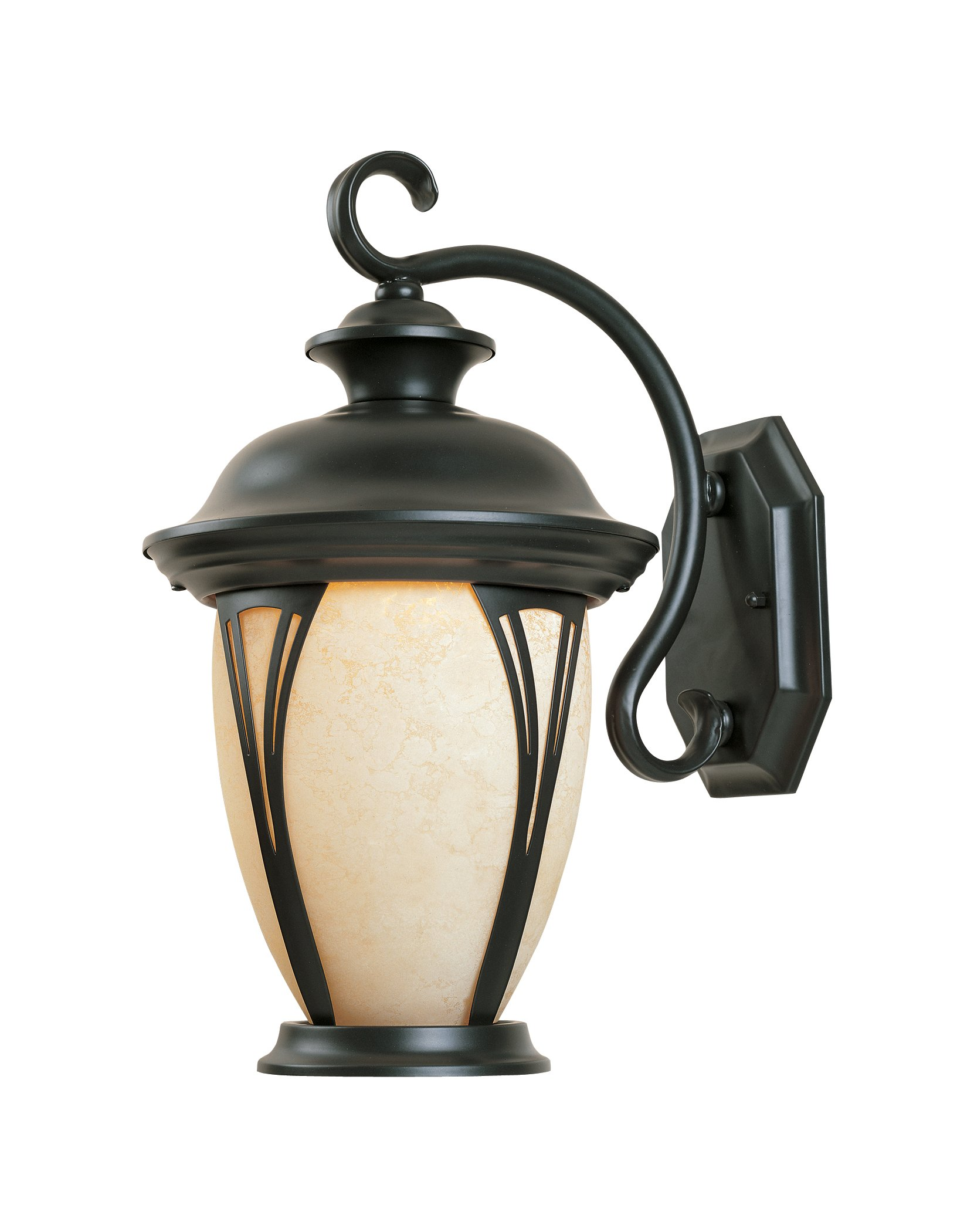 Designers Fountain 30531-AM-BZ Westchester Wall Lanterns, Bronze