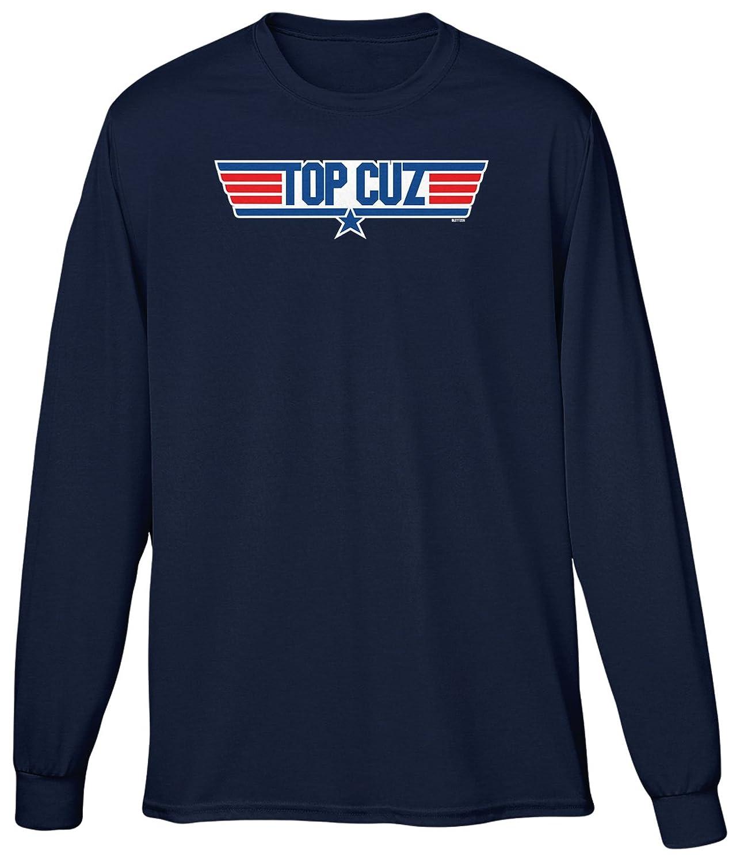Blittzen Mens Long Sleeve T-shirt Top Cuz