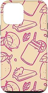 iPhone 12 mini Fresh Juice Lemonade Pink Straw Mason Jar Pie Gift Case