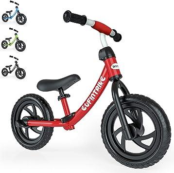 besrey Bici sin Pedales para niño Bicicleta sin Pedales de 2-5 años - Rojo: Amazon.es: Juguetes y juegos