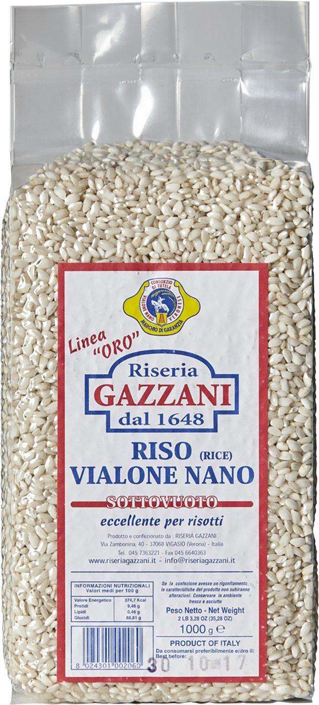 Vialone Nano Rice - Riseria Gazzani - Veneto, Italy - 2.2 lbs