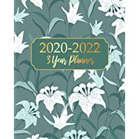 2020-2022 3 Year Planner: Green Garden Business Planners