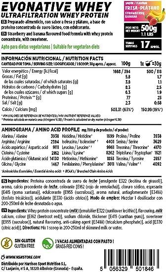 Proteína de Suero Leche Nativa Evonative de HSN | Native Whey ...