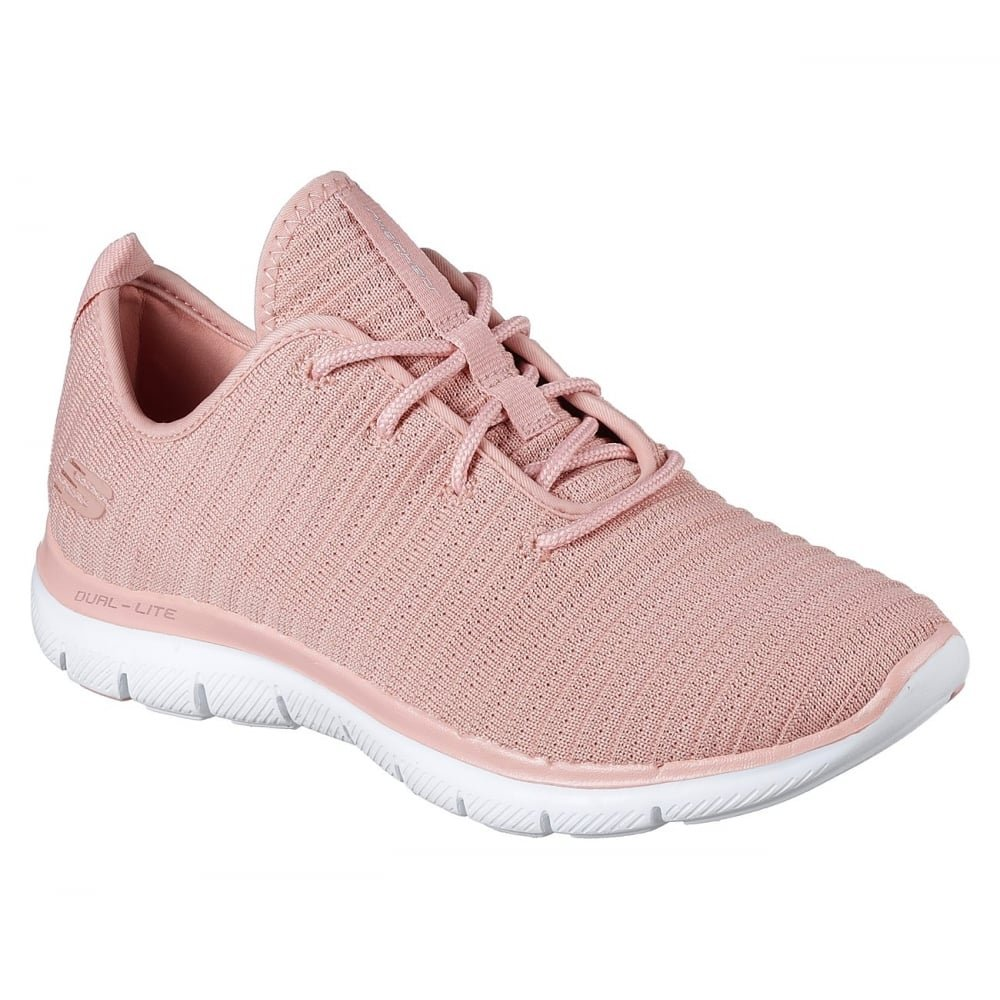 Skechers Womens Flex Appeal 2.0 - Estates Rose Sneaker - 6