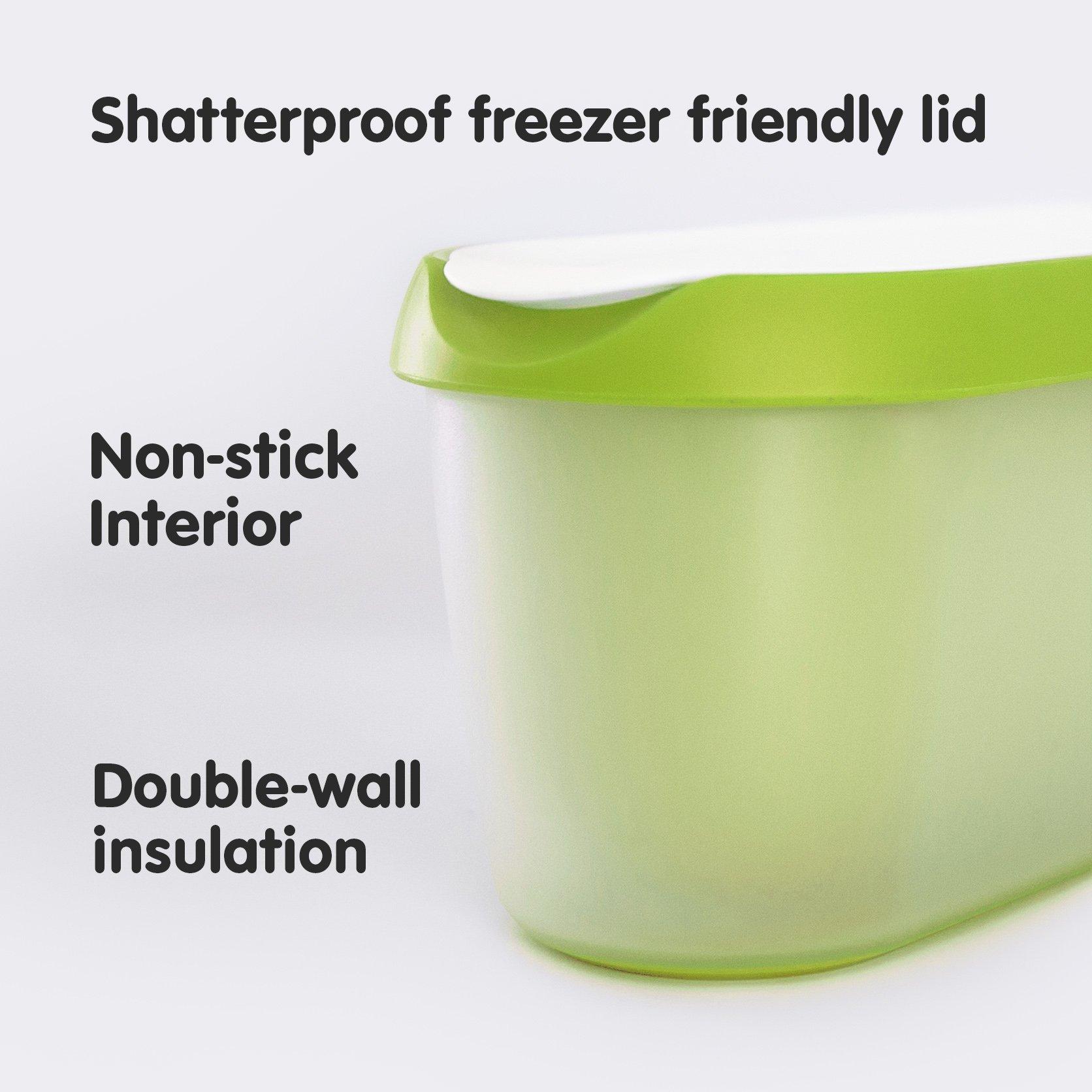 SUMO Ice Cream Containers Insulated Ice Cream Tub for Homemade Ice