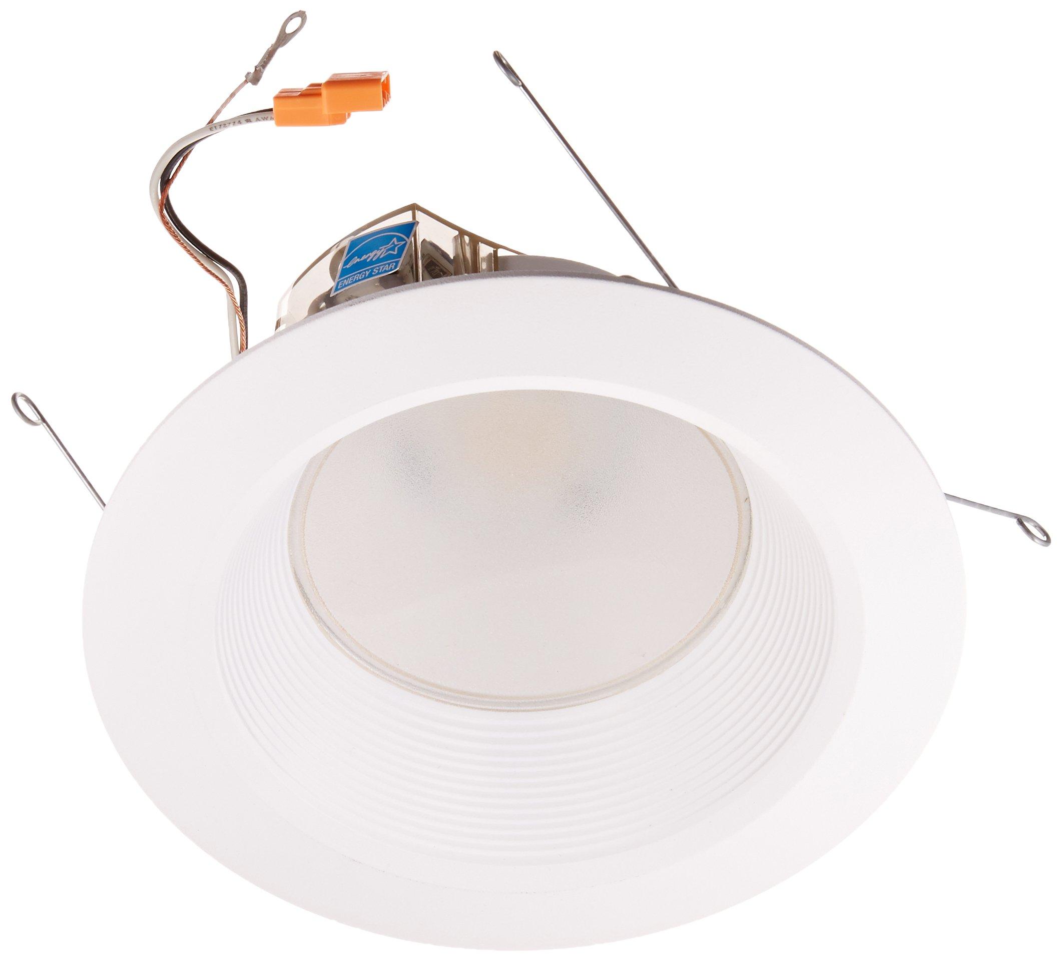Lithonia Lighting 6BPMW LED 27K 90CRI M6 5/6 Inch 16W White High Output LED Recessed Baffle Module, 2700K