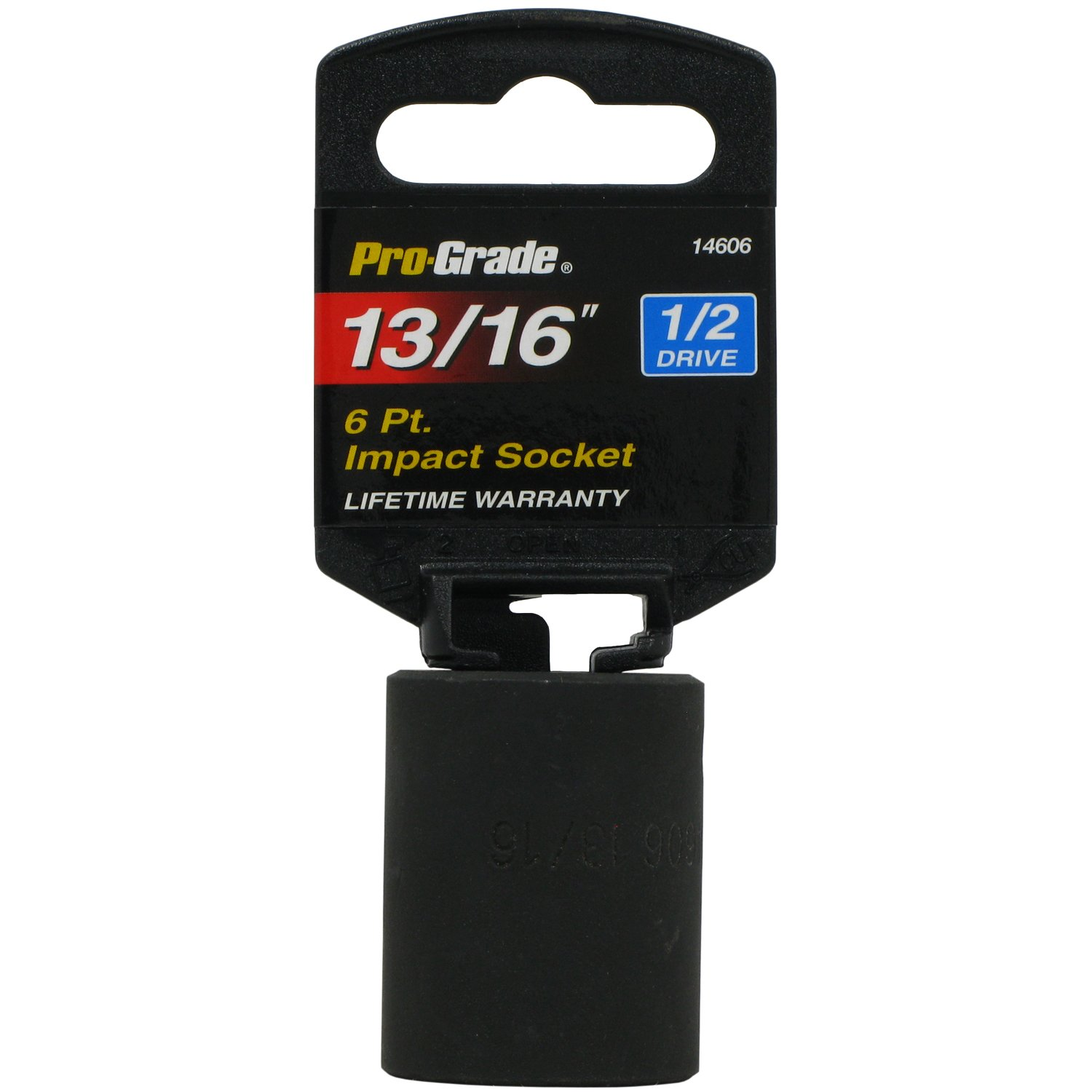 Pro-Grade 14675 1//2-Inch Drive with 6 Point Deep 18mm Impact Socket