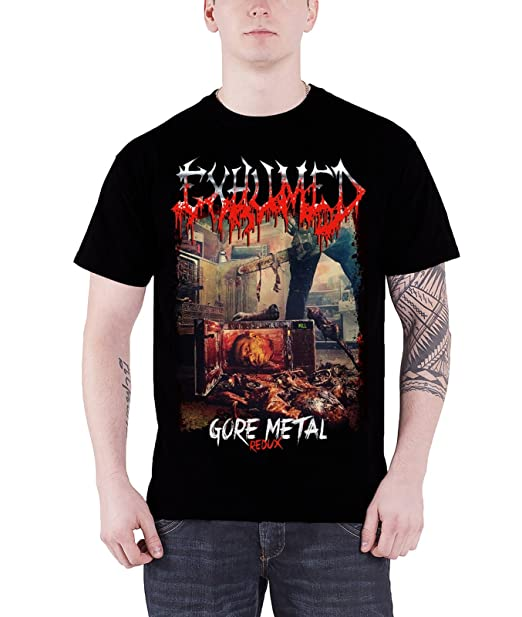 NEW /& OFFICIAL! Exhumed /'Gore Metal Redux/' T-Shirt
