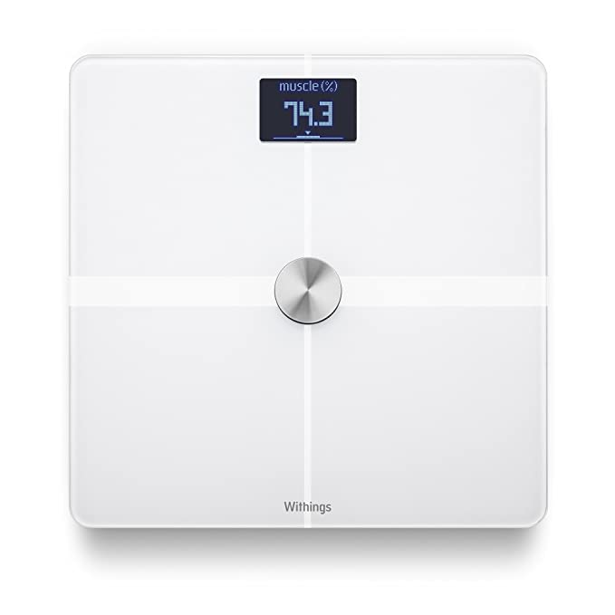 Withings Body - Báscula WiFi de análisis corporal, color blanco: Amazon.es: Salud y cuidado personal