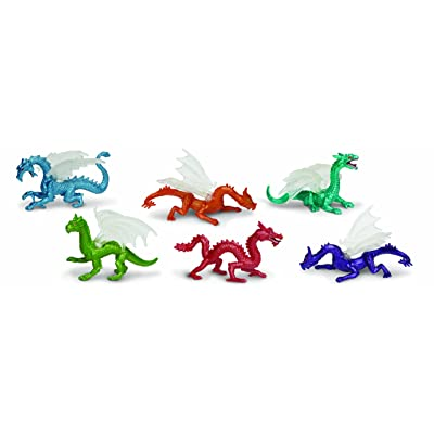 Safari Ltd Dragons TOOB, 6 Count: Toys & Games [5Bkhe0401084]