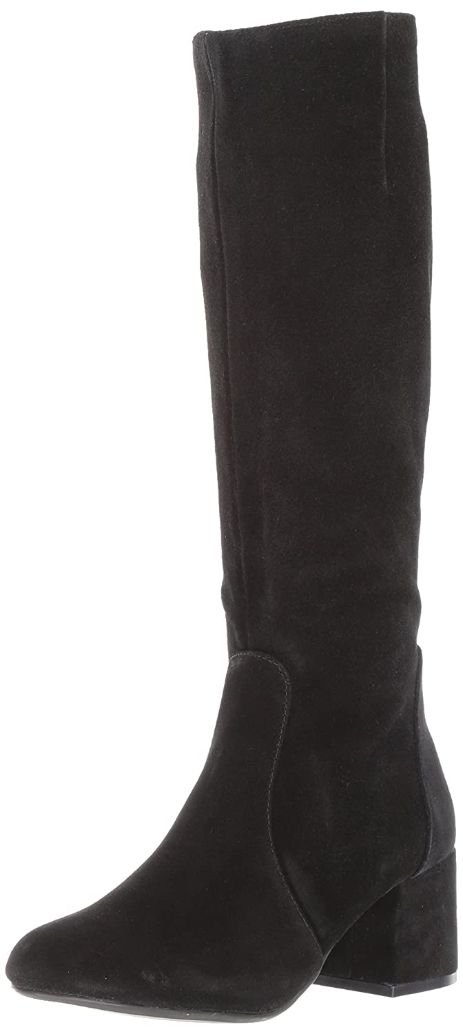 Steve Madden Women's Hanna Harness Boot B07237446X 9.5 B(M) US|Black Suede