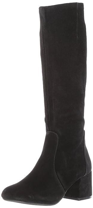 957eed7798c Steve Madden Womens Hanna Leather Closed Toe Knee High