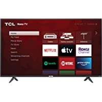 TCL 50-inch Class 4-Series 4K UHD Smart Roku LED TV - 50S435, 2021 Model
