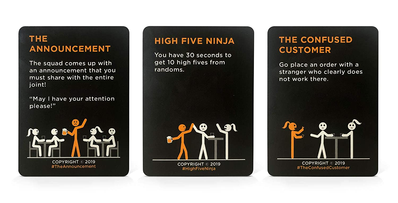 The Bar Card Game