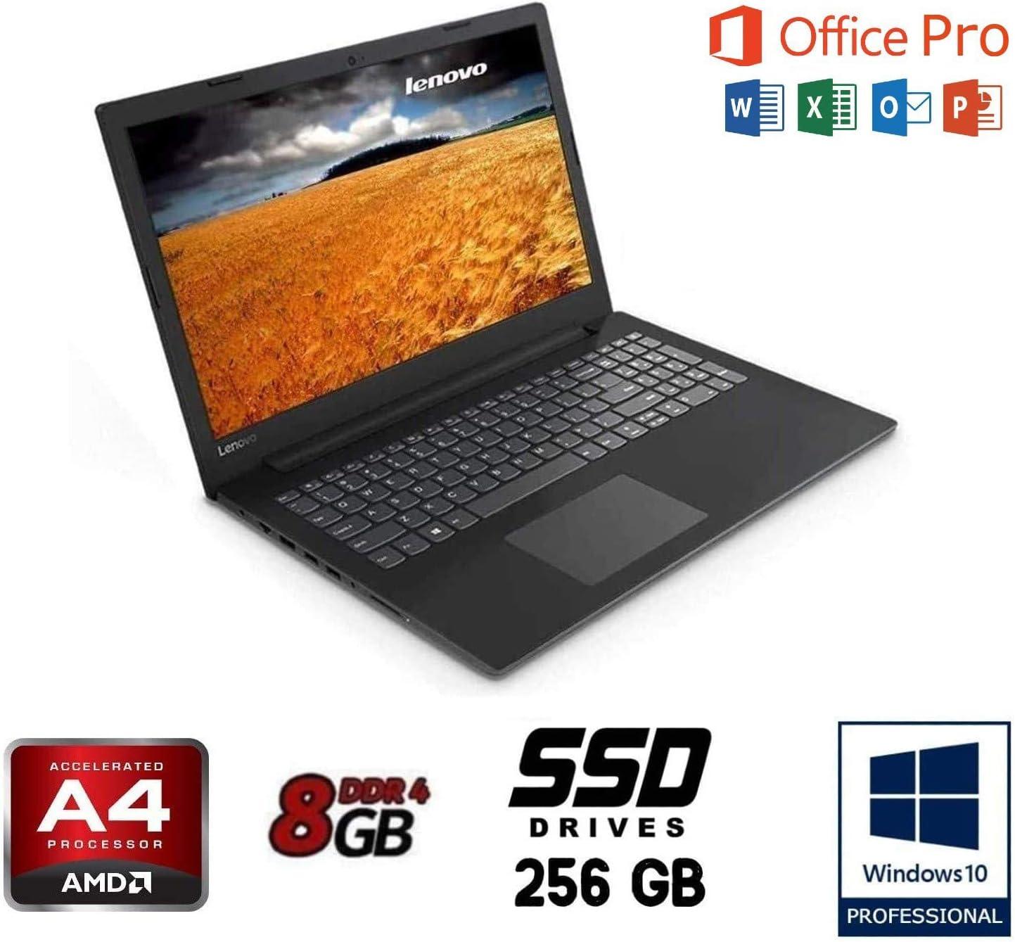 Notebook Lenovo Essential, AMD A4 2.6GHz Burst Mode, Pantalla de 15.6