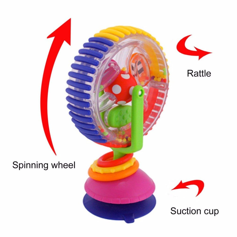 スカイホイール回転おもちゃFerrisホイールモデルベビーベビーカー赤ちゃん早期教育玩具マルチタッチSenses Inspiringおもちゃホット   B079N8DQPB